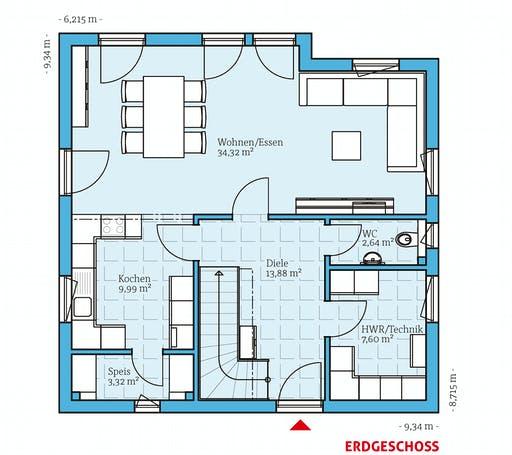 Hanse - Variant 35-137 Floorplan 1