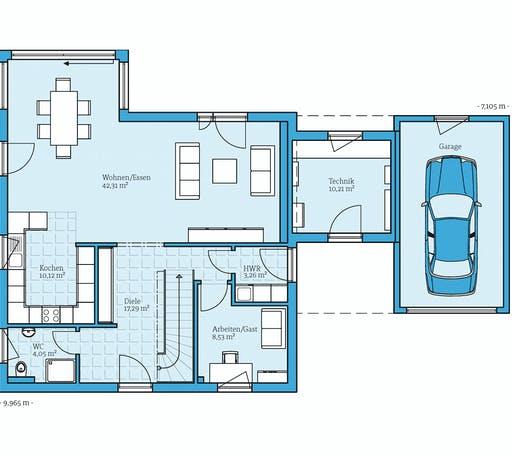 Hanse - Variant 35-154 Floorplan 1