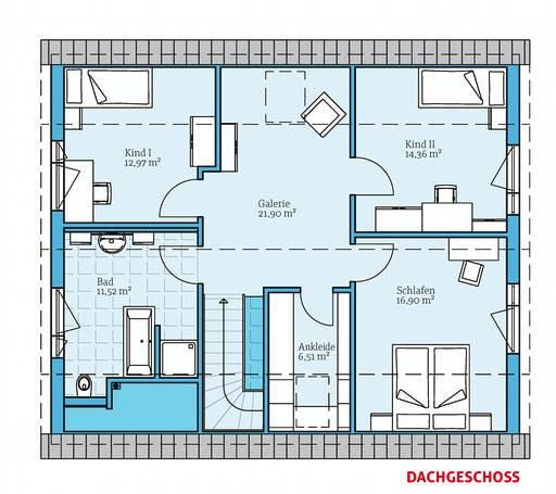 Hanse - Variant 35-172 Floorplan 2