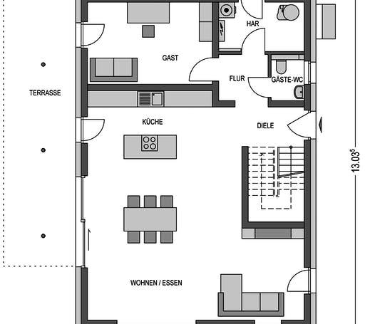 Variant 4000.2 Floorplan 1