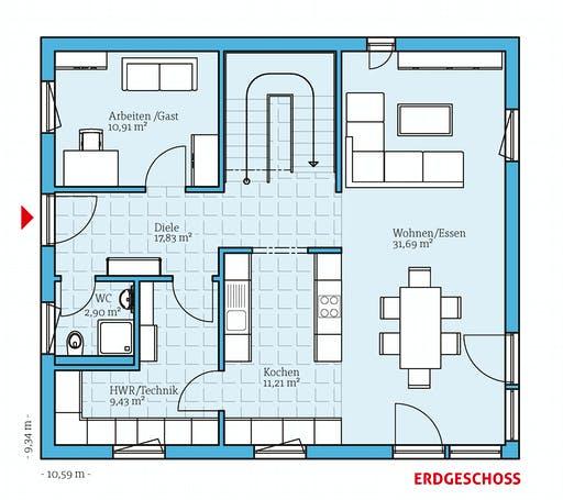 Hanse - Variant 45-154 Floorplan 1