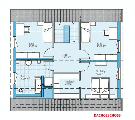 Hanse - Variant 45-154 Floorplan 2