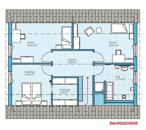 Hanse - Variant 45-175 Floorplan 2