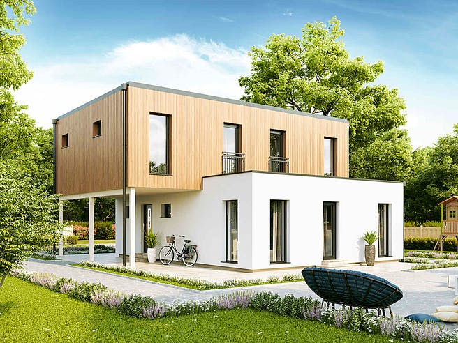 New Design BellaVista von VARIO-HAUS Außenansicht 1
