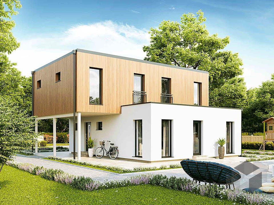 New Design BellaVista von VARIO-HAUS Außenansicht