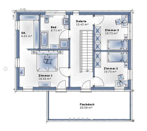 Variohaus - New Design BellaVista Floorplan 2