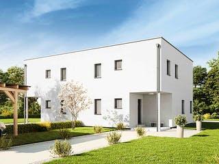 Duplex D113 Small von VARIO-HAUS Außenansicht 1