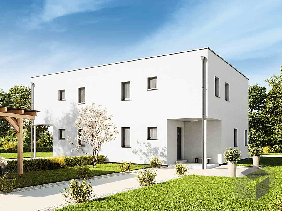 Duplex D113 Small von VARIO-HAUS Außenansicht