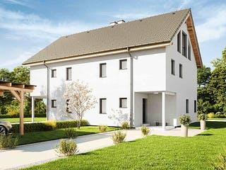 Duplex D113 XLARGE von VARIO-HAUS Außenansicht 1