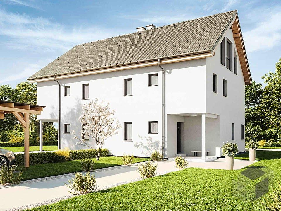 Duplex D113 XLARGE von VARIO-HAUS Außenansicht