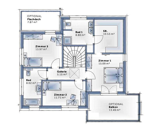 Variohaus - New Design Eprit LARGE Floorplan 2