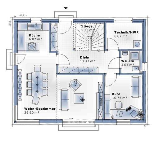 Variohaus - Family Classic Floorplan 1
