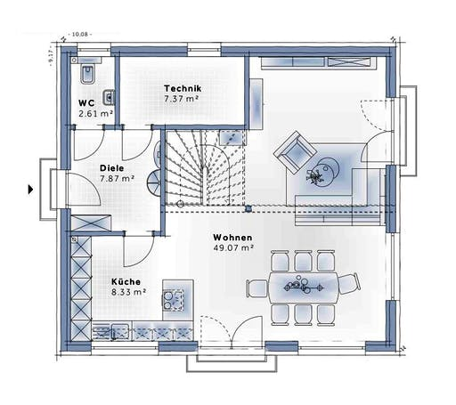 Variohaus - Family Edition Floorplan 1