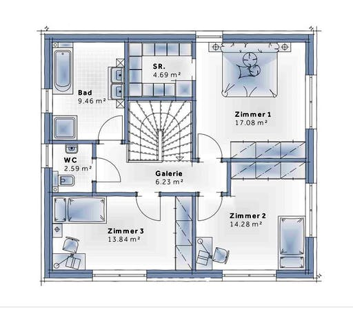 Variohaus - Family Edition Floorplan 2