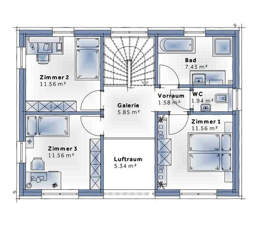 Variohaus - Family Flex Floorplan 2