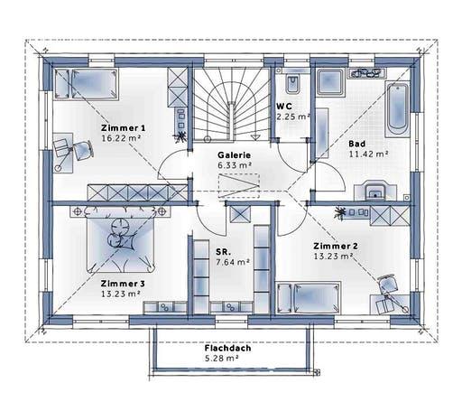 Variohaus - Family Life Floorplan 2