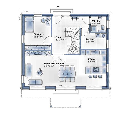 Variohaus - New Design Five Floorplan 1