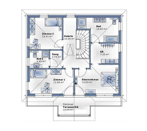 Variohaus - New Design Five Floorplan 2