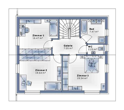 Variohaus - New Design Novum Floorplan 2