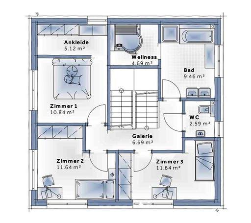 Variohaus - SkyView Floorplan 2