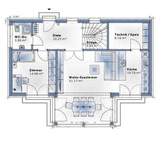 Variohaus - Solair Floorplan 1