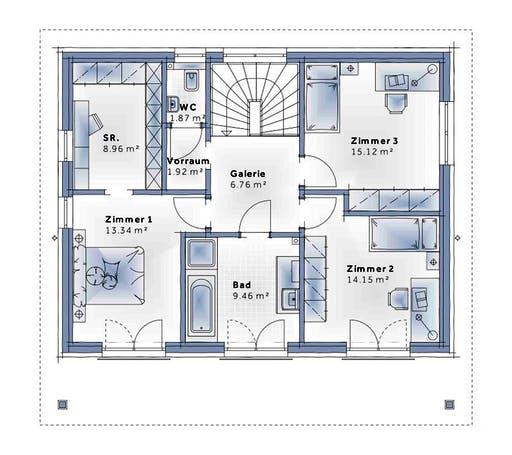 Variohaus - Sunrise Floorplan 2