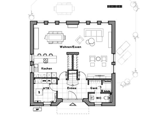 life designed by Jette Joop Floorplan 1