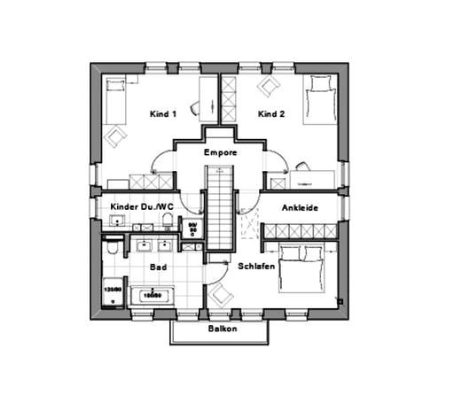 life designed by Jette Joop Floorplan 2