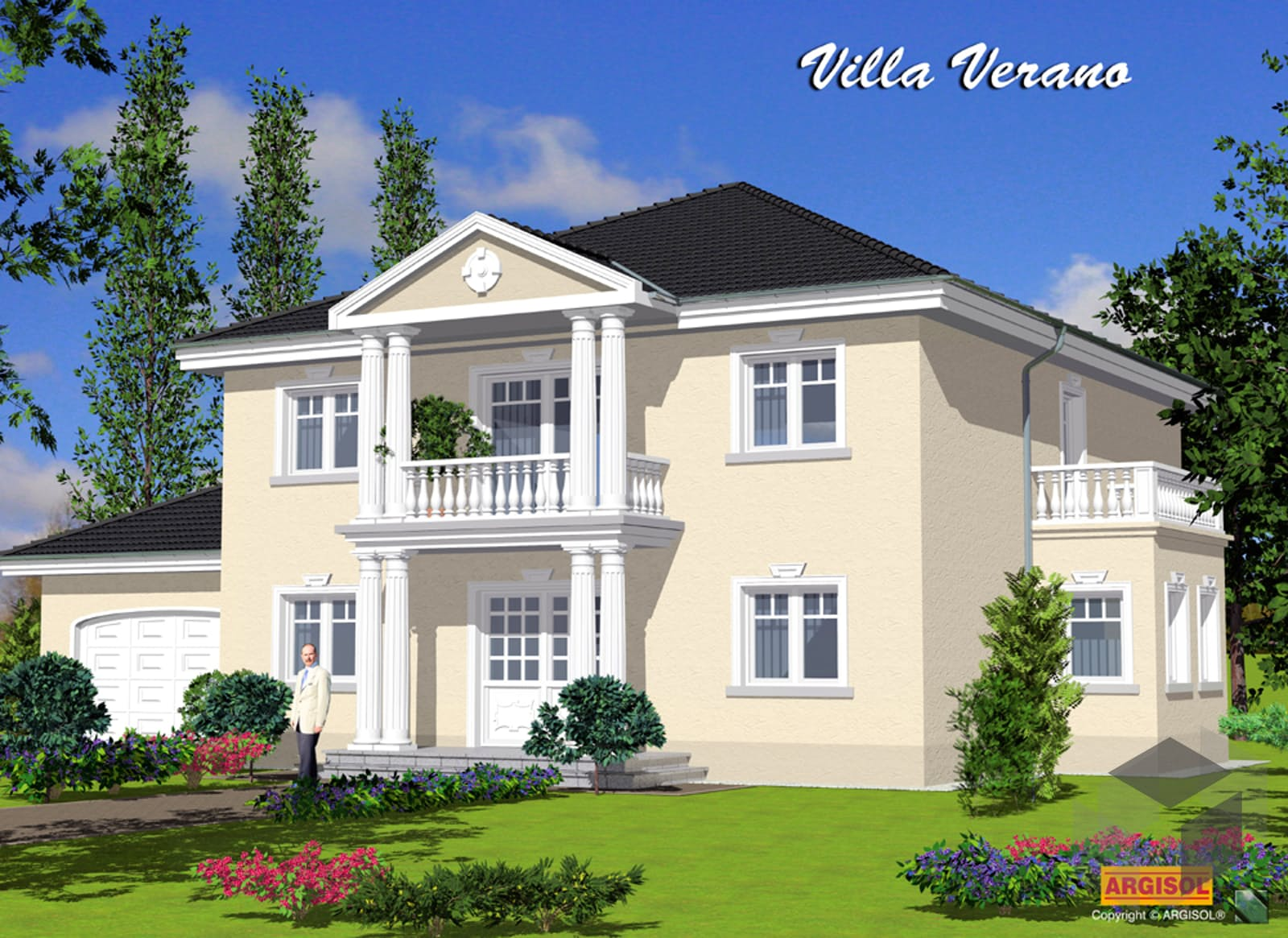 villa verano von argisol bausysteme bewa gmbh. Black Bedroom Furniture Sets. Home Design Ideas