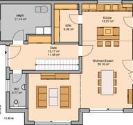 Architektenhaus Vero Grundriss