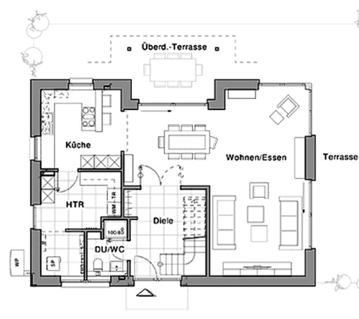 Viebrockhaus Edition 425 Floorplan 1