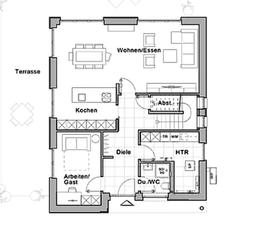 Viebrockhaus Edition 600 Floorplan 1