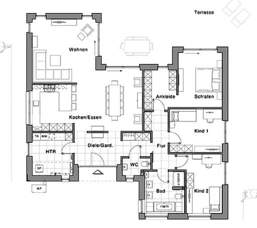 Viebrockhaus Edition 800 B Floorplan 1