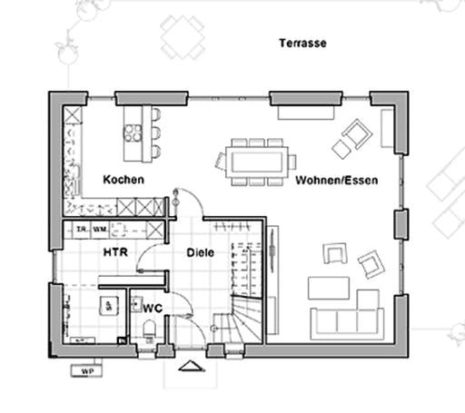 Viebrockhaus Maxime 300 Floorplan 1
