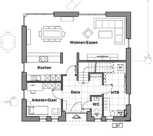 Viebrockhaus Maxime 810 Floorplan 1