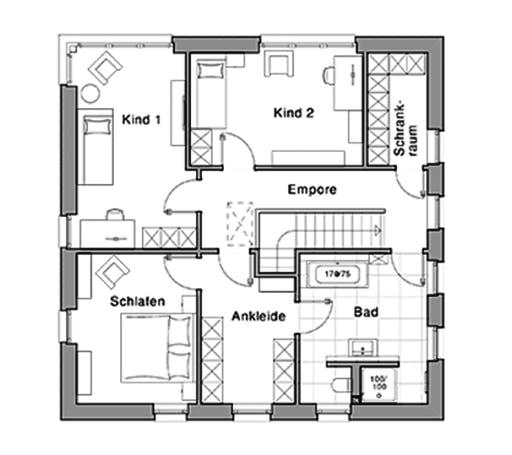 Viebrockhaus Maxime 810 Floorplan 2