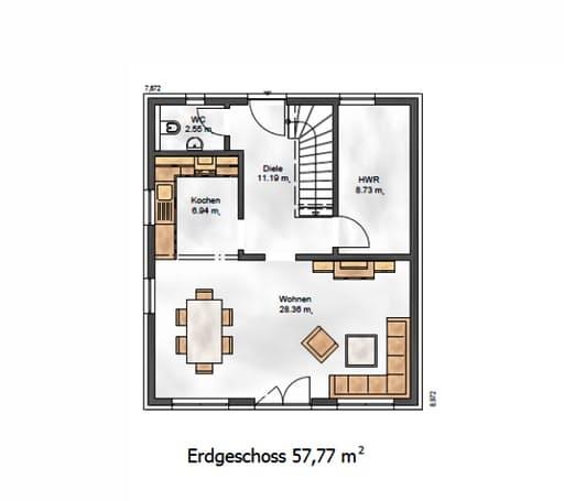 Das Vielseitige 113 Floorplan 1