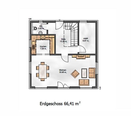 Das Vielseitige 129 Floorplan 1