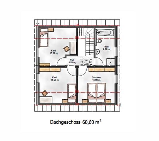 Das Vielseitige 129 Floorplan 2