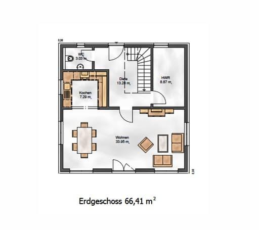 Das Vielseitige 130 Floorplan 1