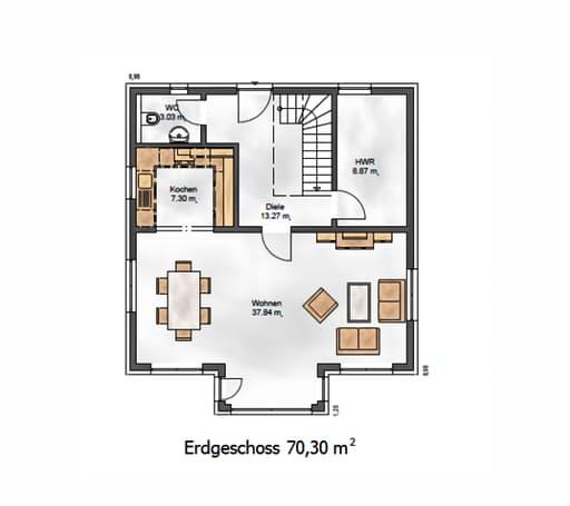 Das Vielseitige 138 Floorplan 1