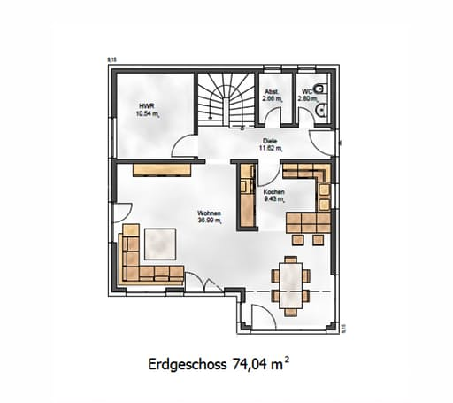 Das Vielseitige 141 Floorplan 1