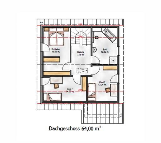 Das Vielseitige 141 Floorplan 2