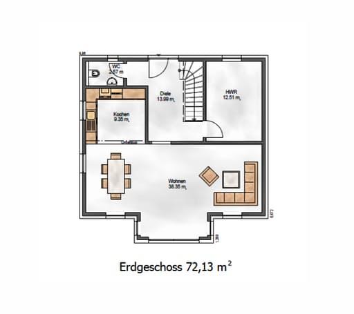 Das Vielseitige 152 Floorplan 1