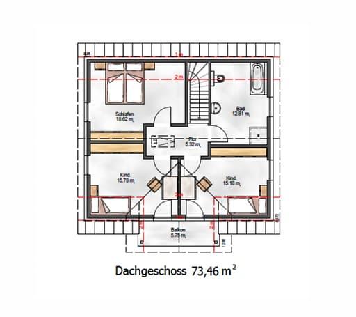 Das Vielseitige 153 Floorplan 2