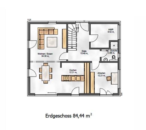Das Vielseitige 167 Floorplan 1