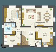 Villa 160 Grundriss