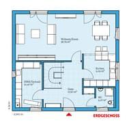 Villa 156 Grundriss