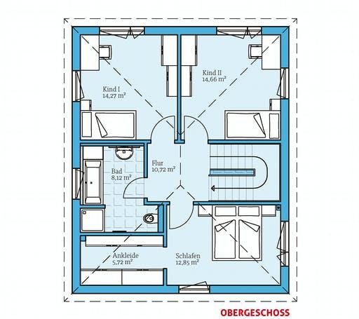 Hanse - Villa 133 Floorplan 2