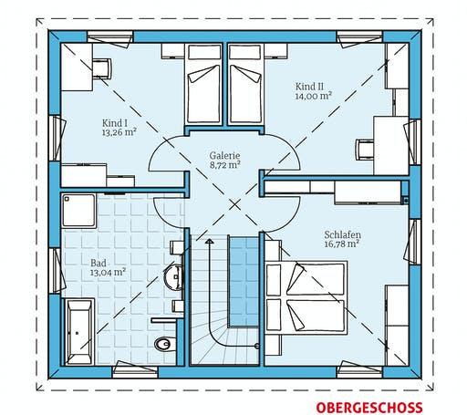 Hanse - Villa 134 Floorplan 2